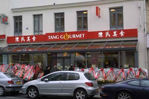Ouverture de la boutique traiteur Tang Gourmet à Belleville