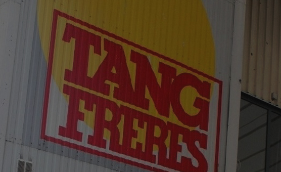 Ancien logo Tang Frères ouverture